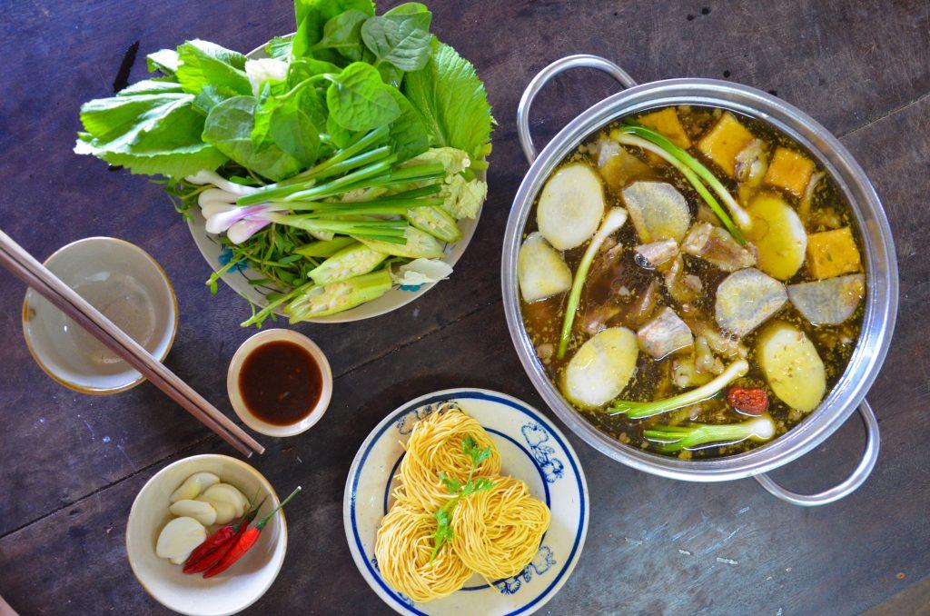 Vietnamesischer Hotpot des Snackpodcasts Meet and Treat